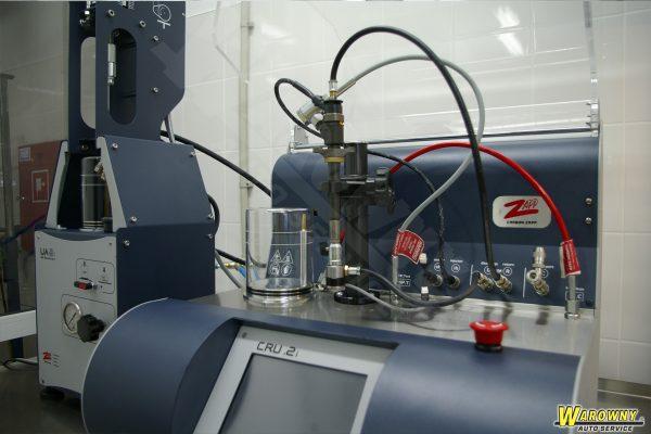 test wtryskiwacza - zapp