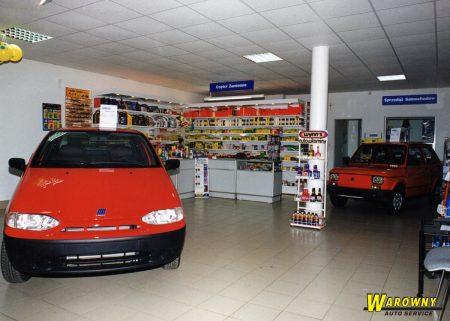 Sprzedaż samochodów Fiat