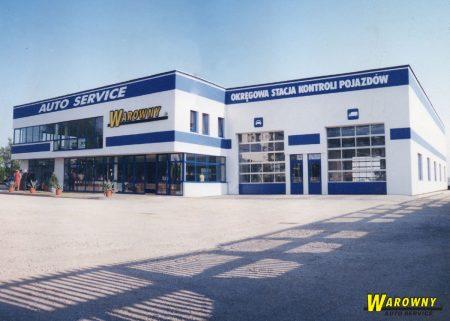 Auto Service Warowny - budynek