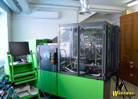 Stanowisko EPS815 cambox pompy wtryskiwacze pompowtryski